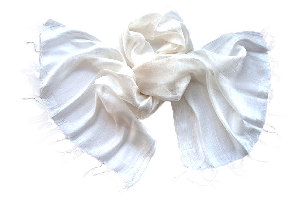 Палантин женский Tranini 531 белый