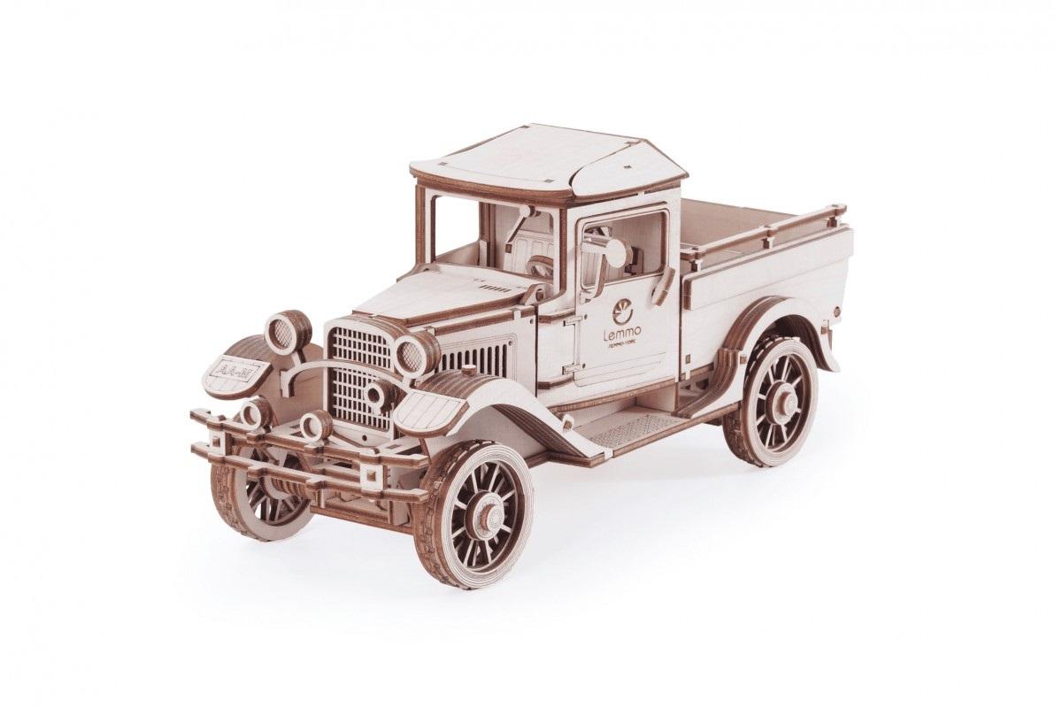 Купить Конструктор LEMMO 01-11 Большой грузовик Полуторка Пикап , Деревянные конструкторы