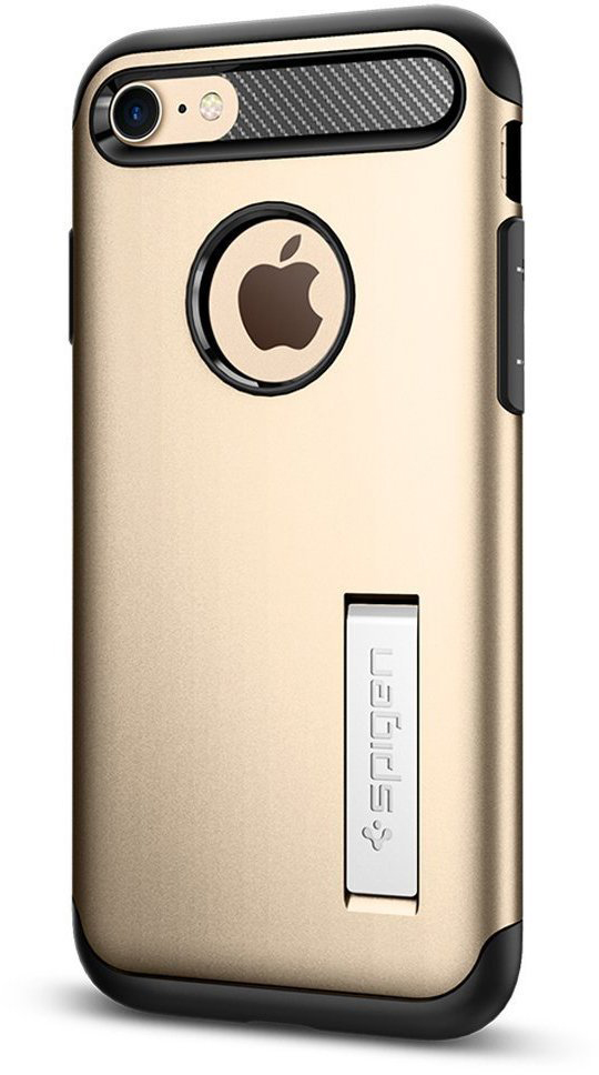 Чехол Spigen Slim Armor для Apple iPhone 7/8 Champagne Gold (042CS20302)
