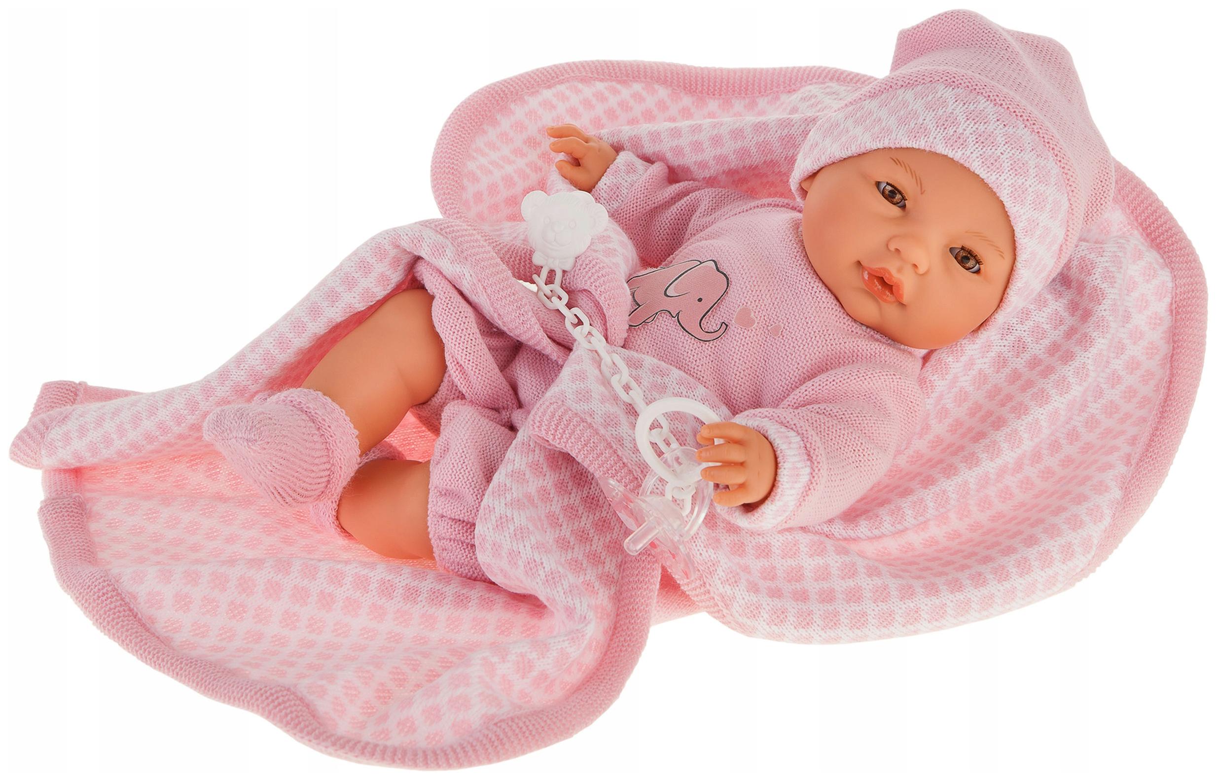 Купить Кукла Вега , в розовом (37 см), Antonio Juan, Классические куклы
