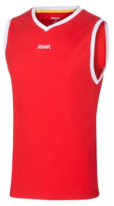 Майка баскетбольная JBT 1020 021, красный/белый, детская