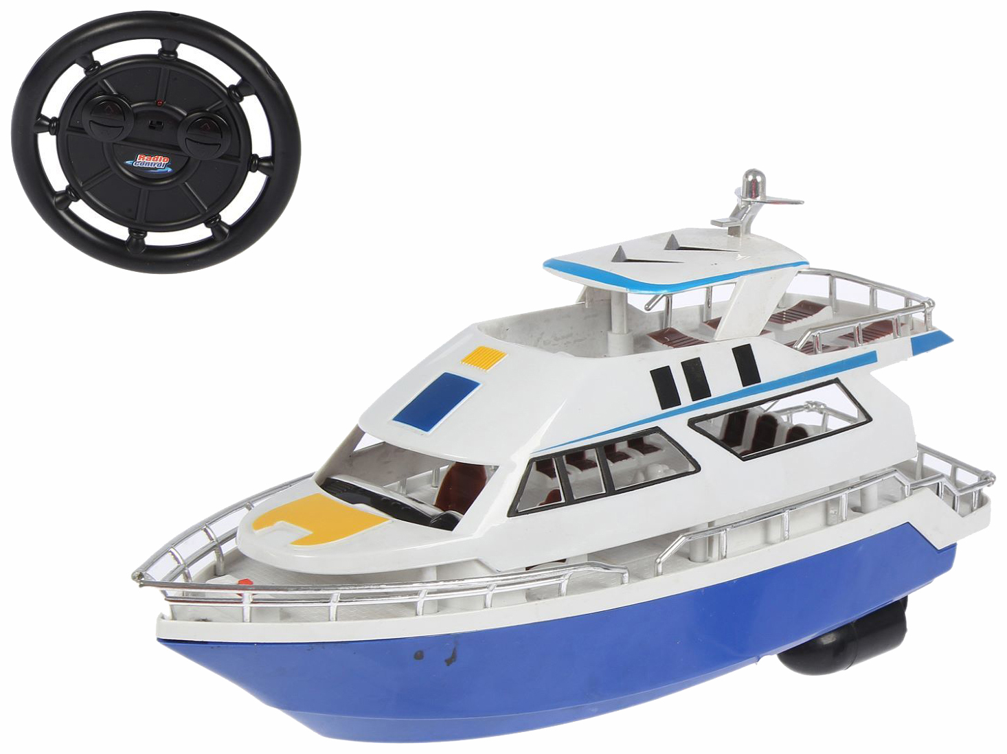 Купить Катер р/у Luxury Yacht на бат., ABtoys, Радиоуправляемые катера