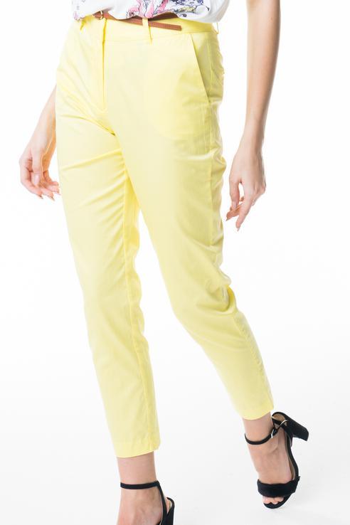 Брюки женские Baon B298022 желтые XS