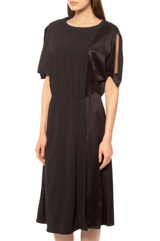 Платье женское BRIAN DALES AW541C JK3694.006 черное 42 IT фото