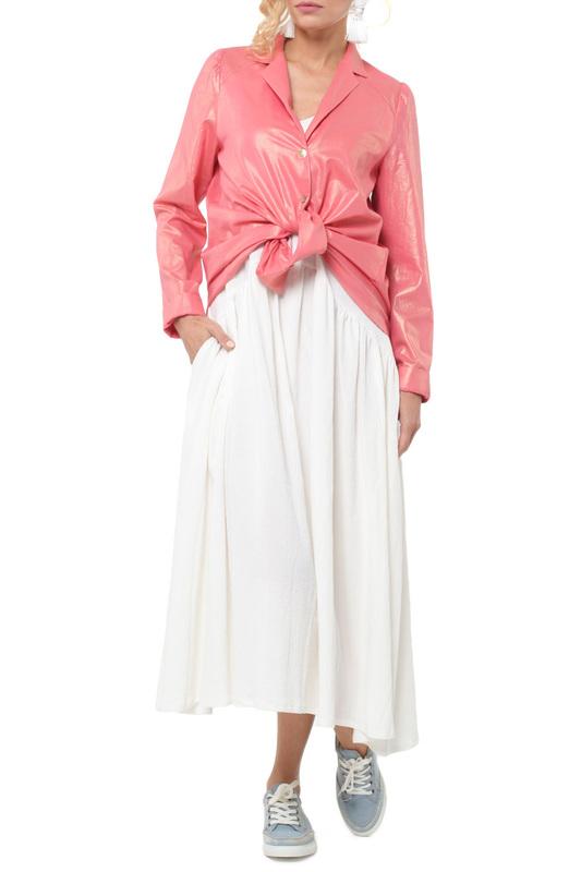 Блуза женская KATA BINSKA KONI 180645 розовая 46 EU фото