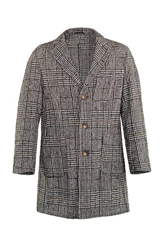 Пальто мужское ALBION LM49 серое XL