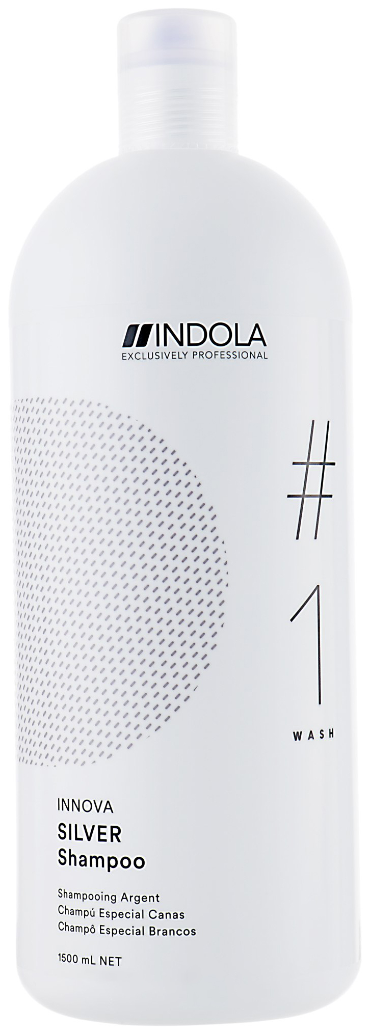 Купить Шампунь Indola Innova Silver Shampoo 1, 5 л