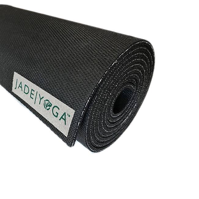 Коврик для йоги Jade Travel черный