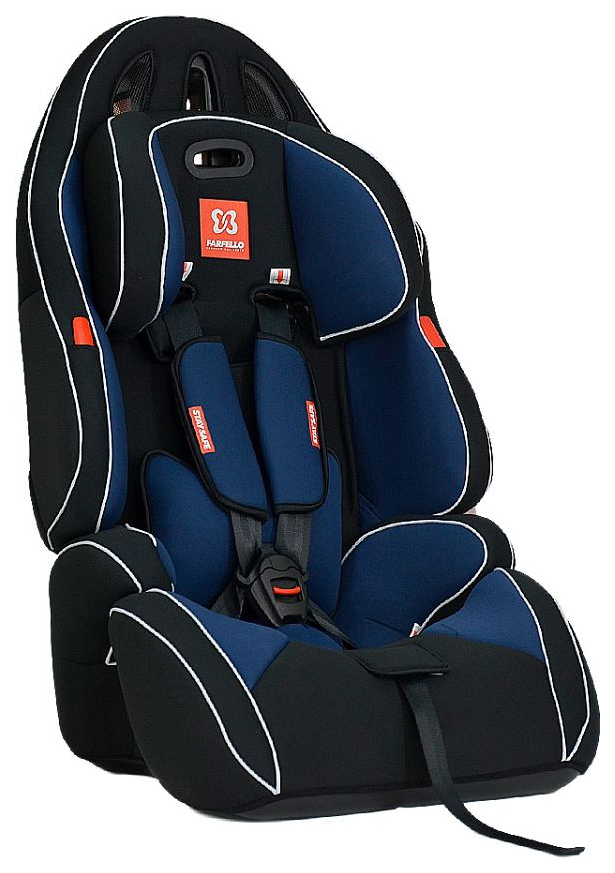 Автокресло детское Farfello GE-G Blue+Black