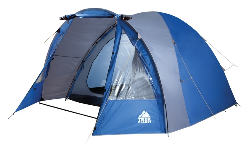 Палатка Trek Planet Indiana четырехместная синяя