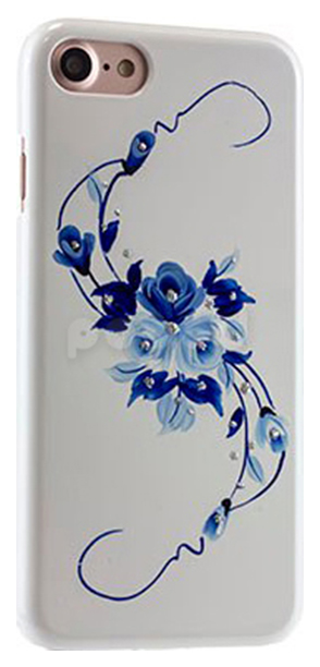 Чехол iCover HP Vintage Rose Apple iPhone 7 накладка, голубой