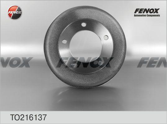 Барабан тормозной FENOX TO216137