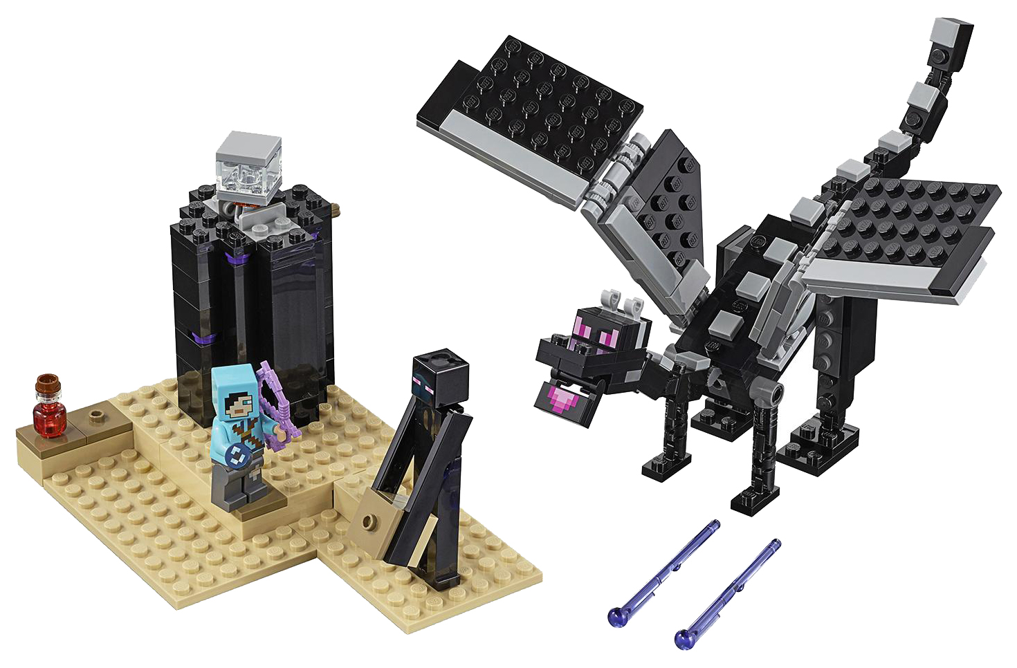 Купить Конструктор lego minecraft 21151 последняя битва, Конструктор LEGO Minecraft 21151 Последняя битва,
