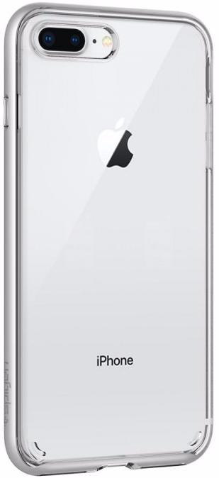 Чехол-накладка Spigen Neo Hybrid Crystal 2 (055CS22370) для iPhone 7/8 Plus (Silver)