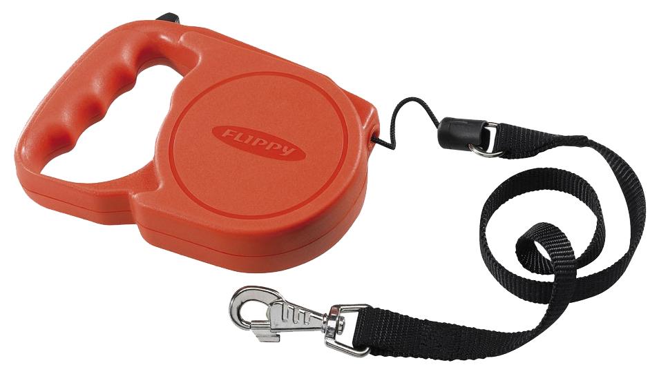 Рулетка для собак Ferplast Flippy Regular 16 x 11 x 3,4 cм красная
