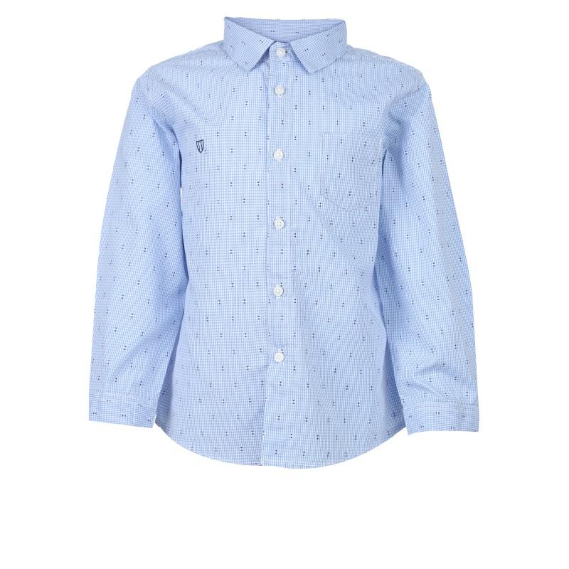 Рубашка Mayoral Голубой р.80, Детские блузки, рубашки, туники  - купить со скидкой