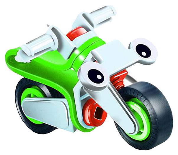 Конструктор пластиковый Fun Red гибкий Мотоцикл Fun Red 16 деталей