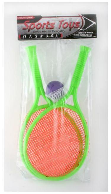 Набор для бадминтона с мячом и воланом