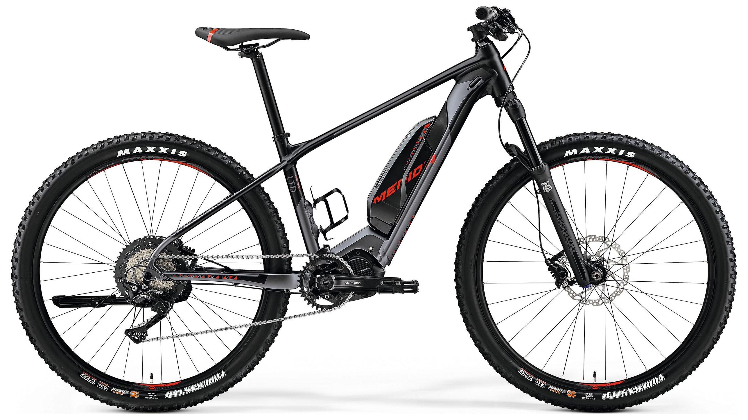 """Электровелосипед Merida eBig.Seven Limited 2019 17"""" серый"""