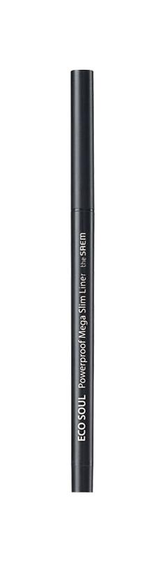 Купить Подводка для глаз The Saem Eco Soul Powerproof Mega Slim Liner 01 Deep Black 0, 07 г