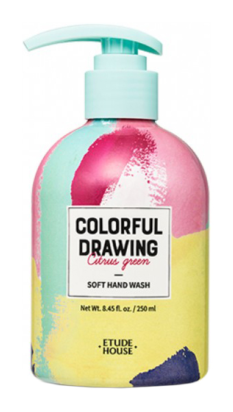 Жидкое мыло Etude House Colorful Drawing Soft