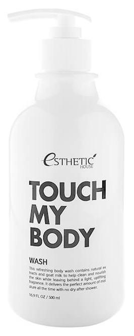 Гель для душа Esthetic House Touch My Body Goat Milk Body Wash 500мл