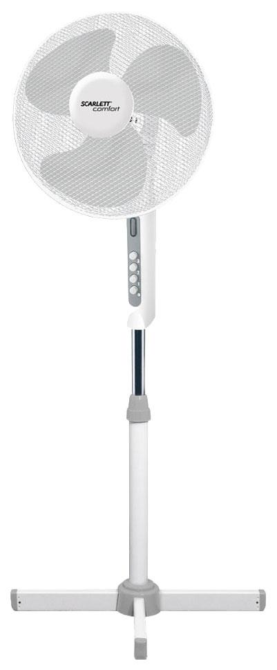 Вентилятор напольный Scarlett SC SF111B15 white
