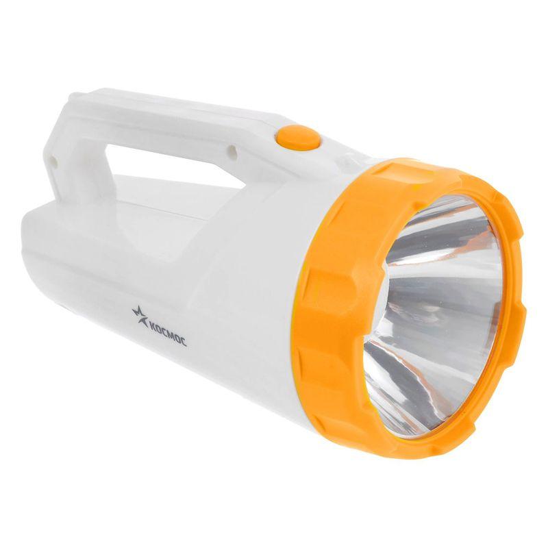 Туристический фонарь Космос 9191 LED белый/желтый, 1 режим