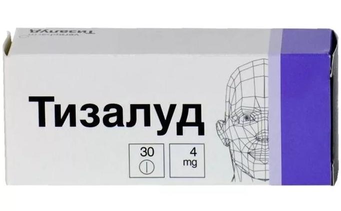 Тизалуд таблетки 4 мг 30 шт.
