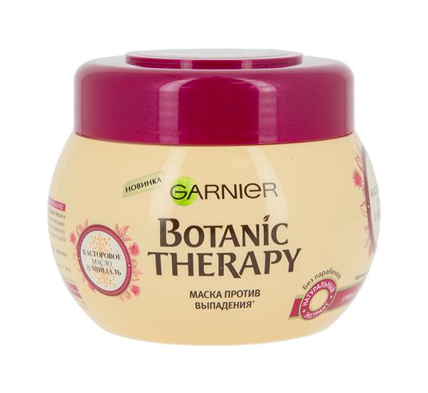 Маска для волос Garnier Botanic Therapy Касторовое масло и миндаль 300 мл