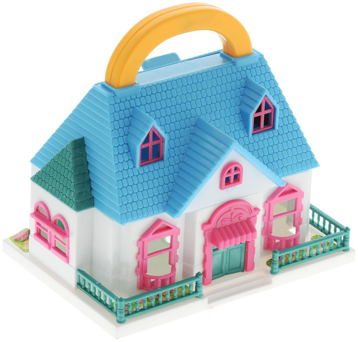 Купить Кукольный домик ABtoys PT-00228 В гостях у куклы в ассортименте,