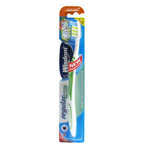 Зубная щетка Wisdom Regular Fresh Medium средней жесткости
