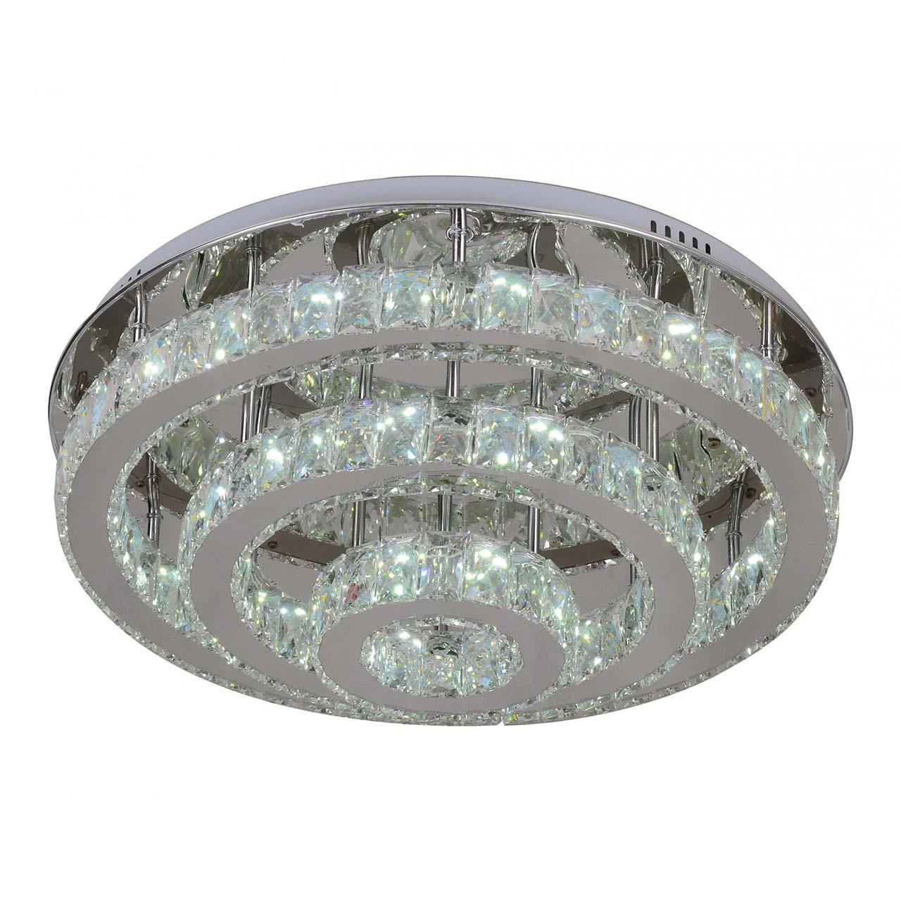 Потолочный светодиодный светильник Kink Light Тор-Кристалл 08554(3000-6000К) фото