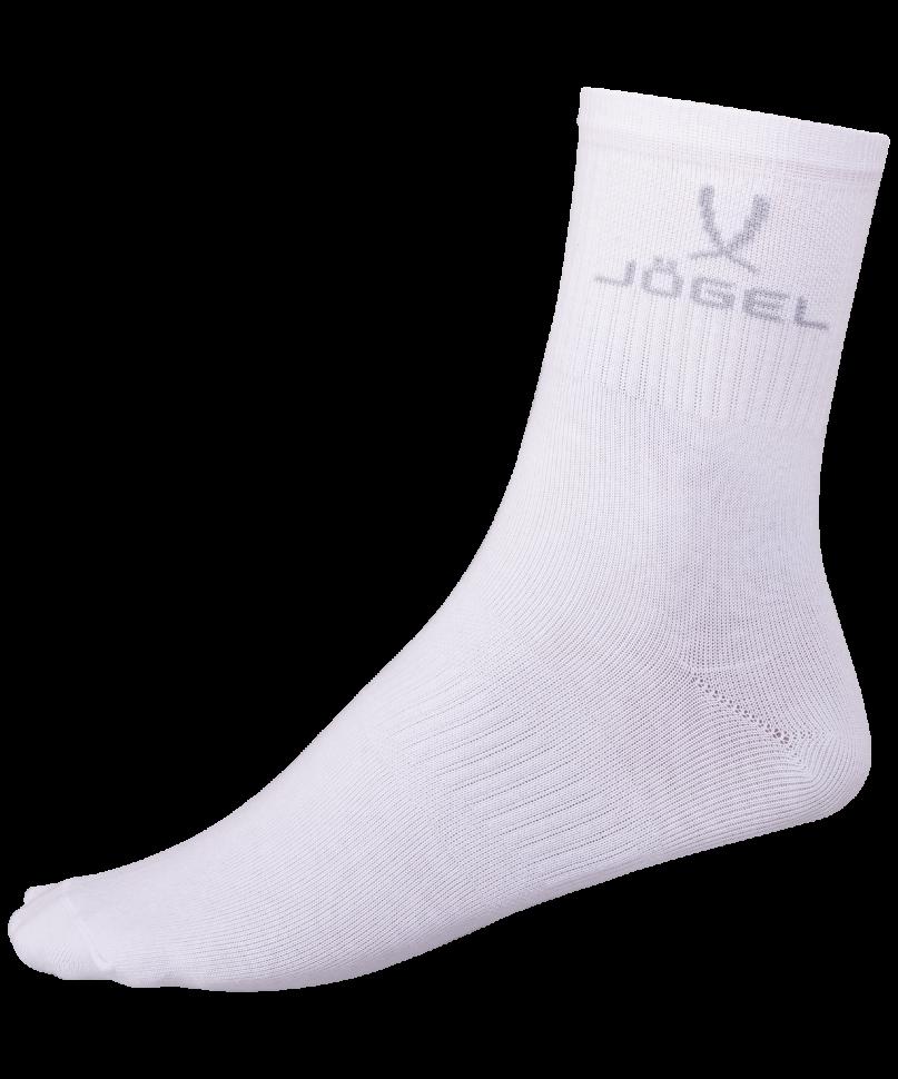 Носки Jogel JA 005, белые/серые, 42 44 EU