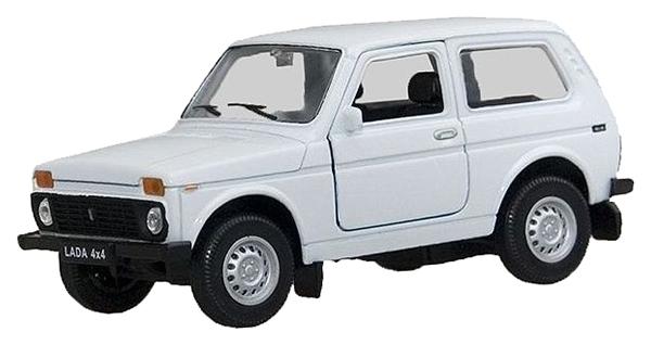 Купить Модель машины 1:34-39 LADA 4x4 Welly 42386, Игрушечные машинки