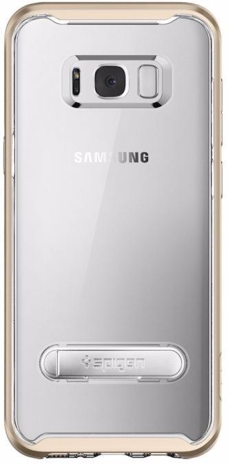 Чехол-накладка Spigen Crystal Hybrid (565CS20836) для Samsung Galaxy S8 (Champagne Gold)