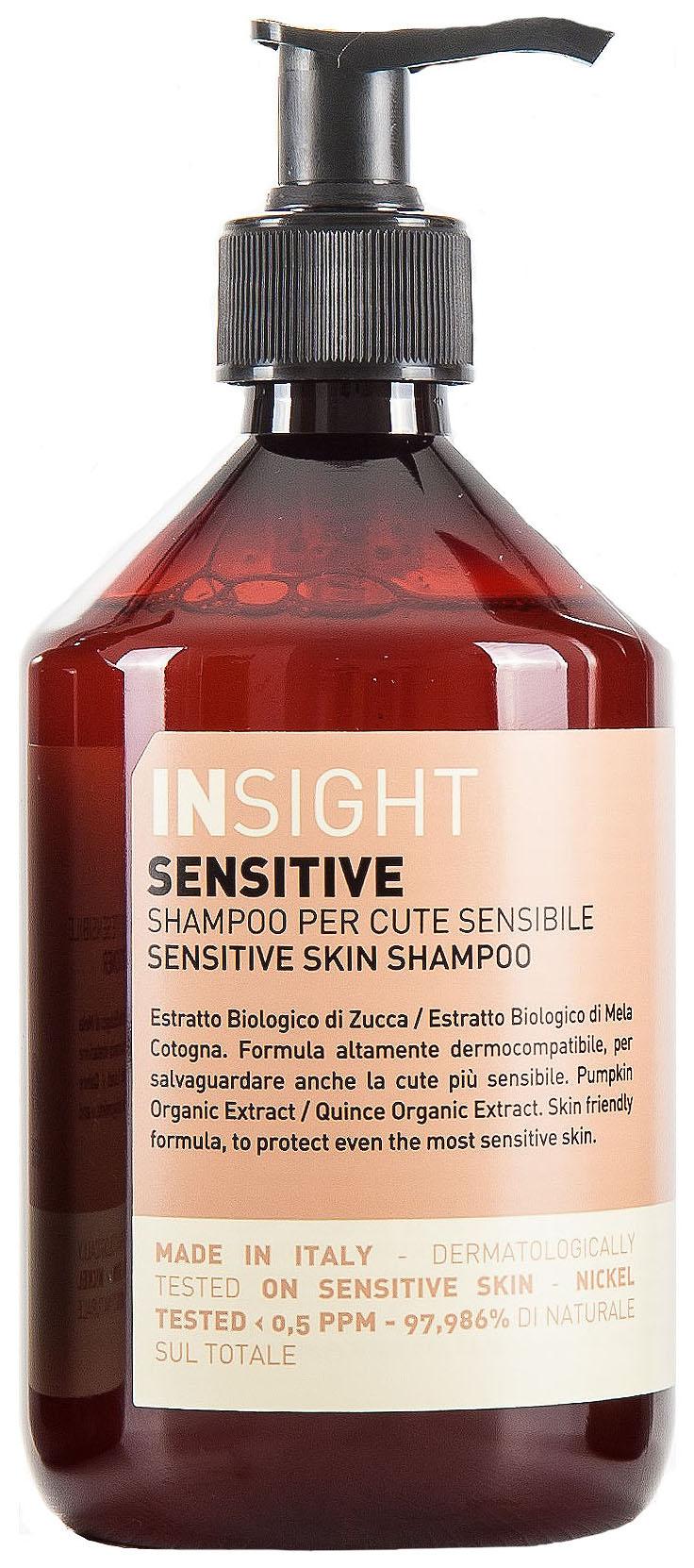 Купить Шампунь для чувствительной кожи головы Insight Sensitive 400 мл