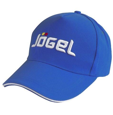Бейсболка Jogel JC 1701 071, синяя/белая,