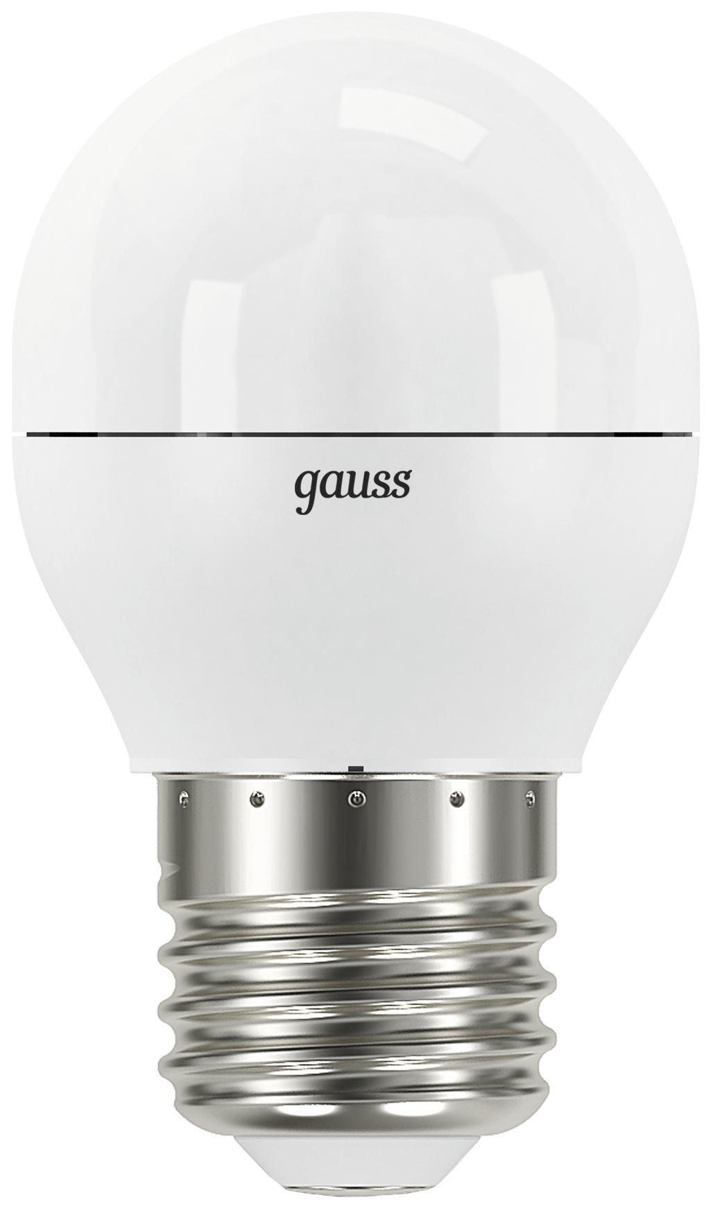 Лампочка Gauss E27 220V 7W 4100K