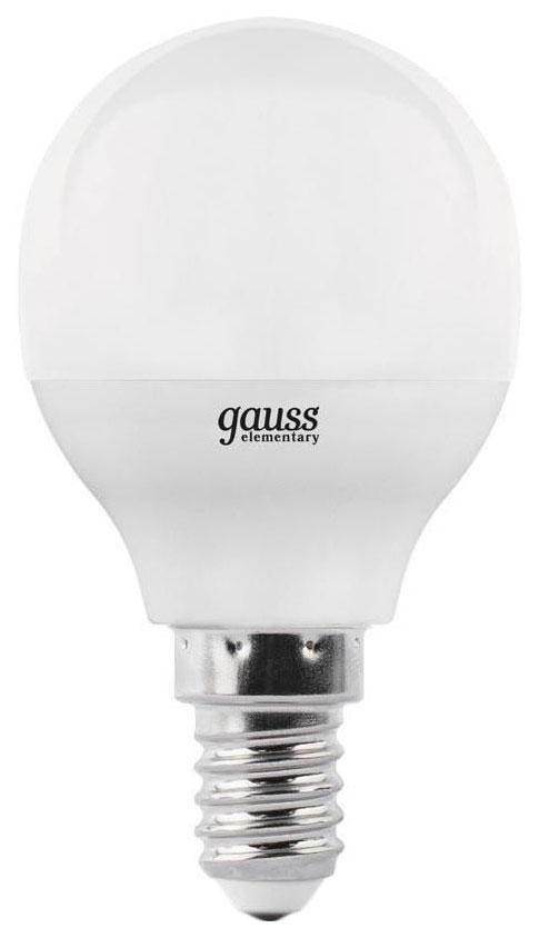 Лампочка Gauss Elementary E14 12W 4100K 53122