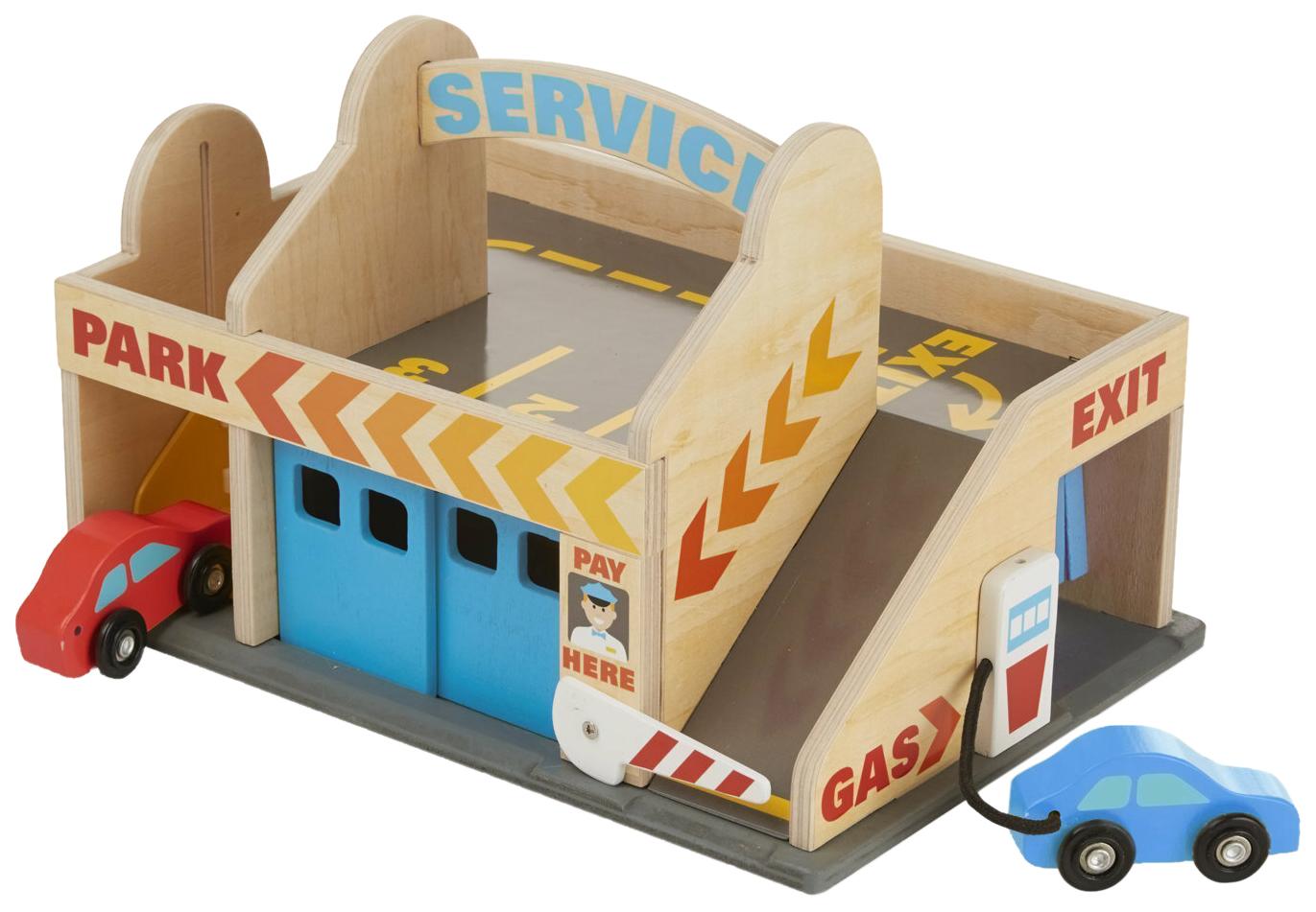картинка Классические игрушки Melissa&Doug Автостоянка 9271 от магазина Bebikam.ru