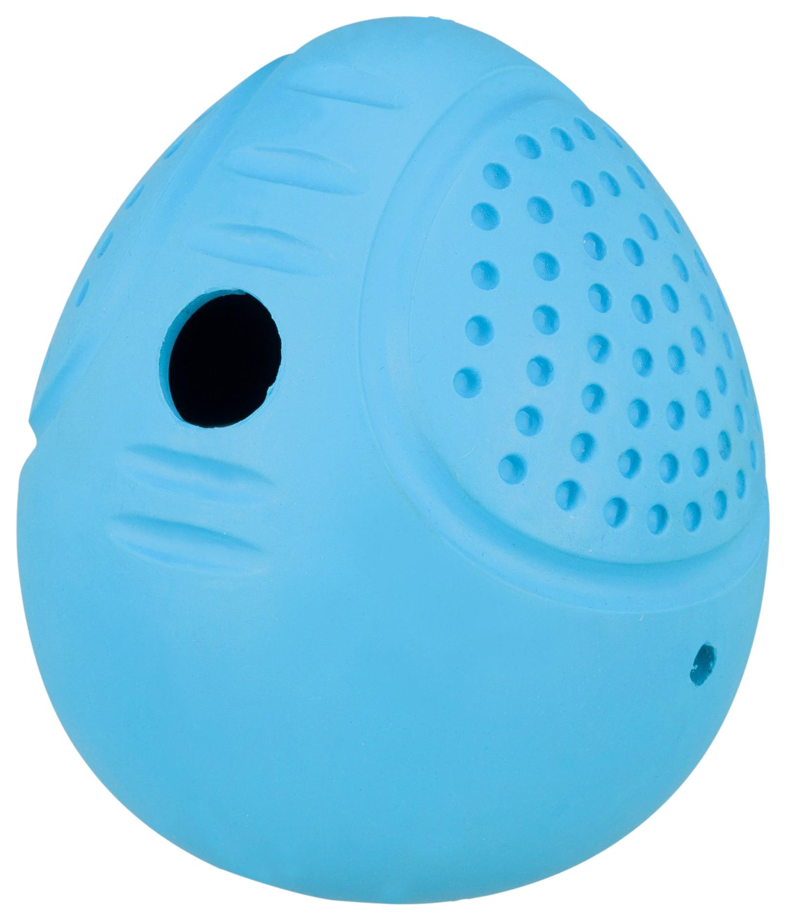Игрушка для собак TRIXIE Roly Poly M, Яйцо, для лакомств, в ассортименте, 8 см
