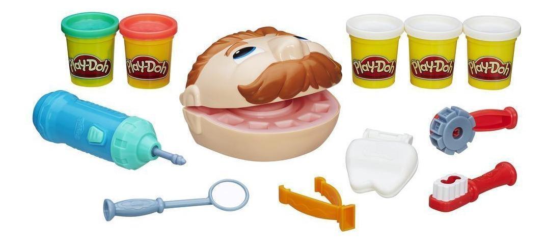 Купить Мистер Зубастик, Набор для лепки из пластилина play-doh мистер зубастик b5520, Лепка