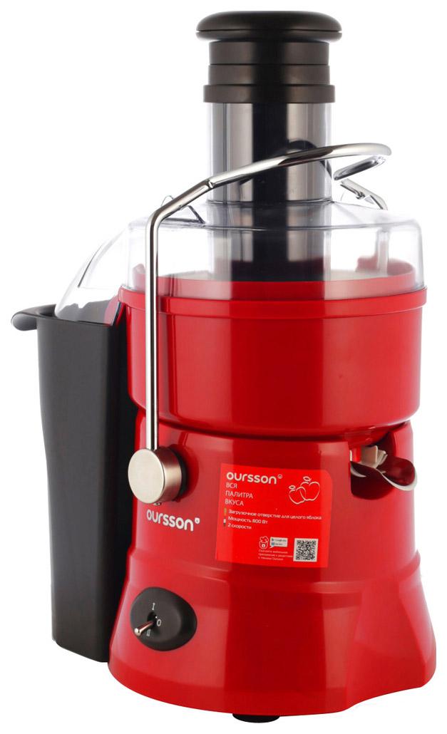 Соковыжималка центробежная Oursson JM 3008/RD red