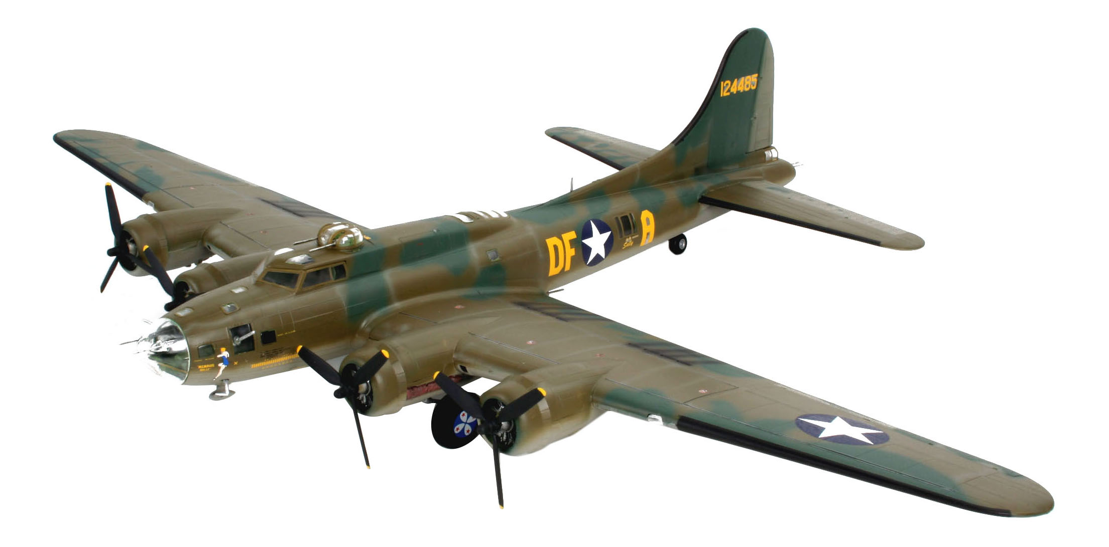 Купить Самолет boeing b-17f 'memphis belle'; 1:48, Revell, Модели для сборки