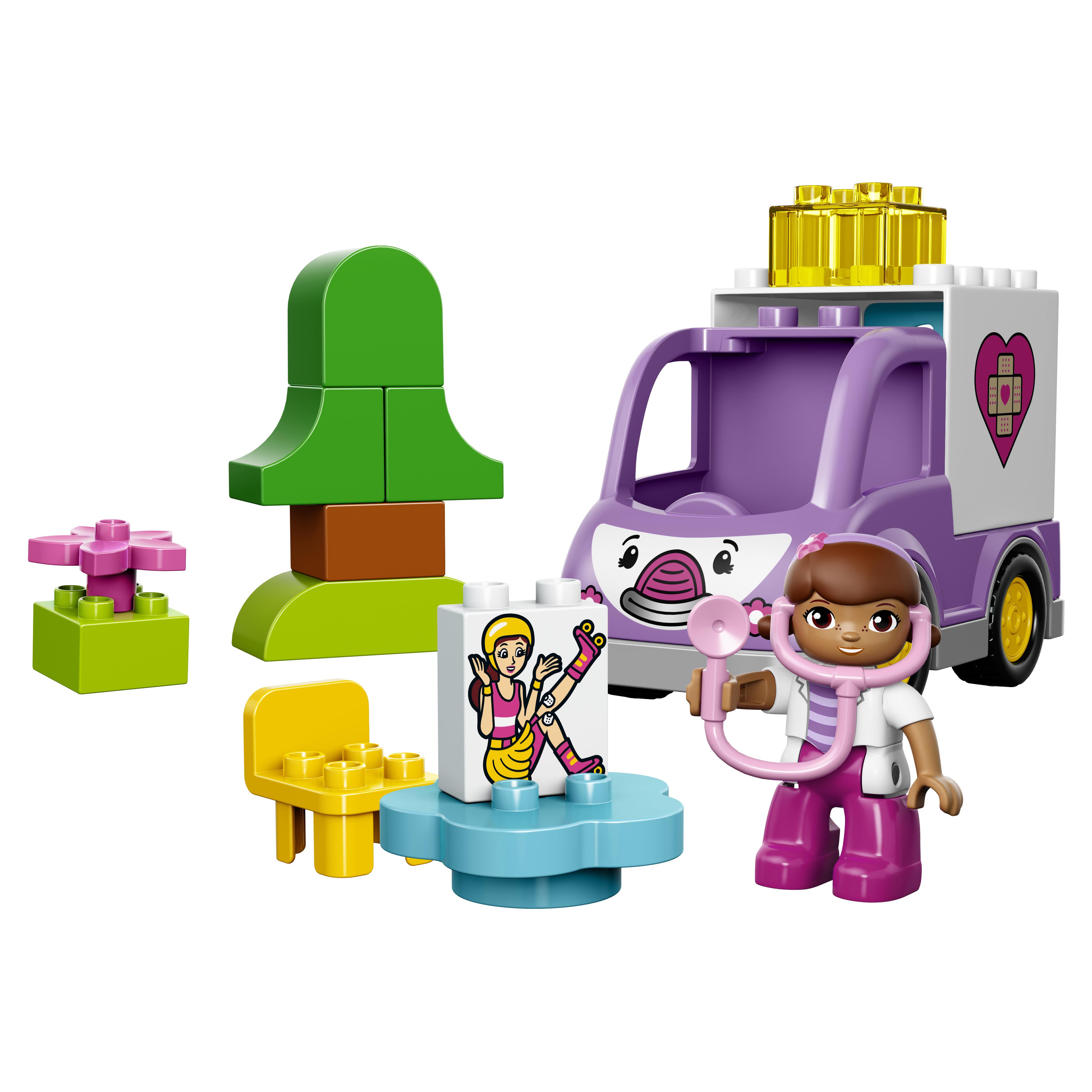 Конструктор LEGO Duplo Doc McStuffins Скорая помощь