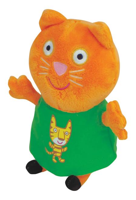 Мягкая игрушка Росмэн Мягкая игрушка Кенди с тигром 20 см Рерра Рig 29622