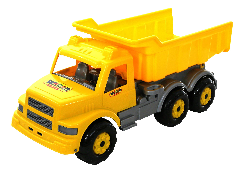 Купить Буран №2, Автомобиль Полесье Самосвал желтый,
