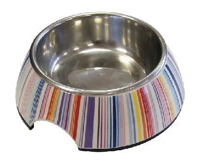 Одинарная миска для собак Super Design, металл,