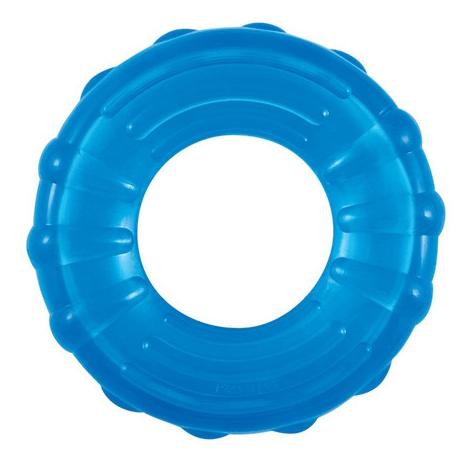 Жевательная игрушка для собак Petstages ОРКА кольцо, синяя, 15 см
